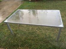 Frosted glass outdoor table North Narrabeen Pittwater Area Preview