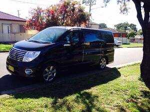 2005 Nissan Elgrand NE51 Highwaystar Black 5 Speed Automatic Lakemba Canterbury Area Preview