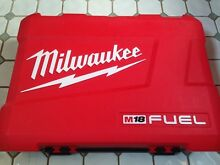 New Milwaukee Hard Plastic Dual Drill Case North Narrabeen Pittwater Area Preview