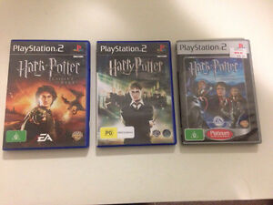 Harry Potter Games PS2 x3 Lobethal Adelaide Hills Preview