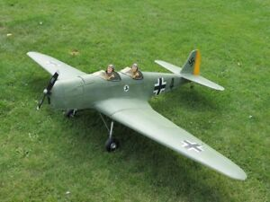 Ww2 German klemm Rc 60 size electric trainer.