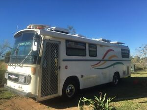 Motor home Mosman Park Charters Towers Area Preview