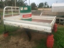 Steel ute tray off Nissan Patrol Wonthella Geraldton City Preview