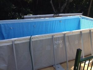 Above ground swimming pool Corrimal Wollongong Area Preview