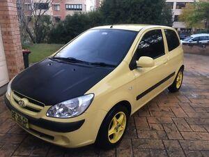 2006 Hyundai Getz yellow + Alloy wheels + Armrest Killara Ku-ring-gai Area Preview