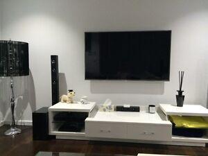 WHITE DESIGNER TV UNIT Ascot Brisbane North East Preview