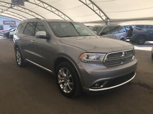 2017 Dodge Durango Citadel AWD, LEATHER, NAVIGATION, SUNROOF