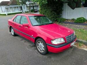 1996 Mercedes-Benz C200 Sedan - 21 y/o, 380,000 k's: Barely Used! Hamilton Newcastle Area Preview