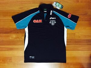 BRAND NEW Penrith Panthers Asics Rugby League Polo Carlton Kogarah Area Preview