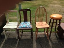 Miscellaneous Retro/Vintage chairs Springfield Lakes Ipswich City Preview