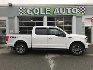 2018 Ford F-150 XLT FX4 145 wheelbase with only 4100 kms!