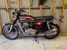 Honda CB 750 Jarrahdale Serpentine Area Preview