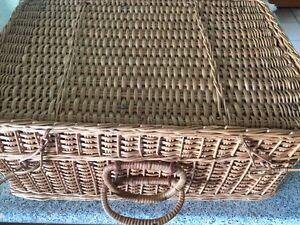 Retro Picnic Basket Murrumba Downs Pine Rivers Area Preview