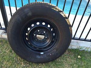 Unused Bridgestone H/T plus black rim Berrinba Brisbane South West Preview