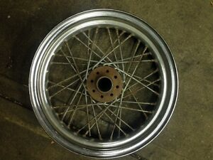 Harley Davidson Ironhead Sportster rear wheel North Melbourne Melbourne City Preview