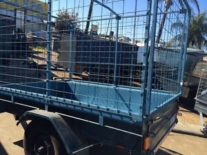 7 x 4 Trailer with Cage, New Tyres & Rego Gosnells Gosnells Area Preview