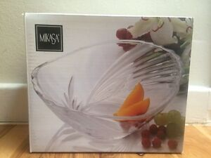 Mikasa Glass Bowl Denistone West Ryde Area Preview