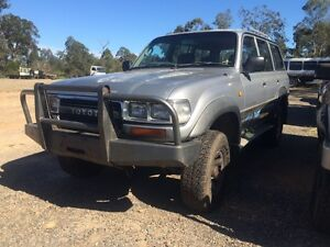 Wrecking 1990 80 series Landcruiser Willawong Brisbane South West Preview