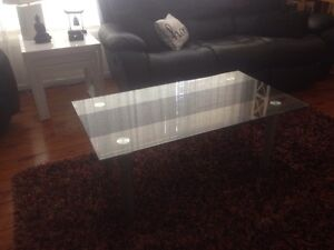 Glass Coffee table as new New Lambton Heights Newcastle Area Preview