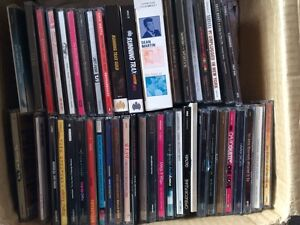 Box of CDs and DVDs Earlwood Canterbury Area Preview