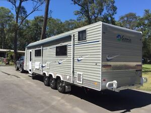32 foot spaceland scenic deluxe custom caravan for sale dropped $58k D'aguilar Moreton Area Preview