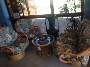AMAZING BAMBOO LOUNGE SETTING - $699/SET Palm Beach Gold Coast South Preview