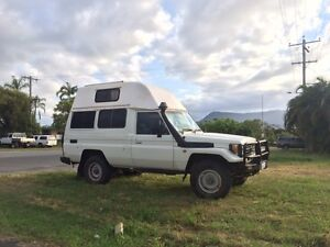 Troopcarrier land cruiser 4x4 high top campervan Cairns Cairns City Preview