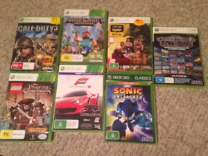 Xbox 360 games various Tuncurry Great Lakes Area Preview