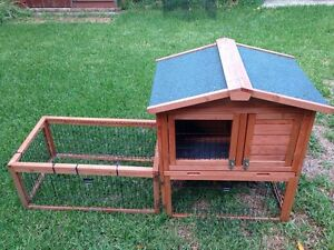 Rabbit Hutch Guinea Pig Ferret Cage 2 Storey Package Carlton Kogarah Area Preview