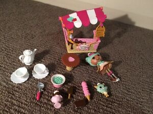 Mini Lalaloopsy ice cream stall play set Merewether Newcastle Area Preview