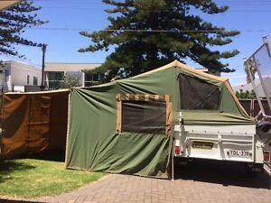 Trak Shak original Aussie Made 2001 Camper Trailer Off-road Henley Beach Charles Sturt Area Preview