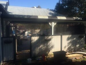 Carport steel dismounted and ready to go Rydalmere Parramatta Area Preview