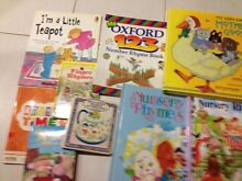 NURSERY RHYME BOOKS (9) Doncaster Manningham Area Preview