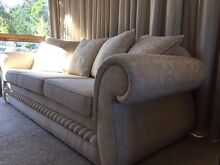 Harvey Norman - Minelli Tuscany 3 Seat Fabric Sofa AS NEW/immaculate Malvern East Stonnington Area Preview