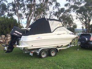 Haines Signature 575F mercury optimax 150hp outboard dunbier trailer Kingston Kingborough Area Preview