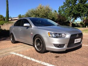 2010 Mitsubishi Lancer ES Greenwith Tea Tree Gully Area Preview
