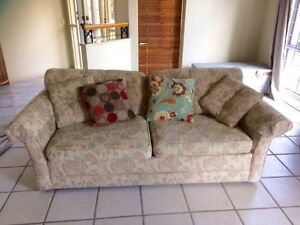 2 seater couch with Double sofa bed - urgent sale Carseldine Brisbane North East Preview