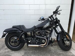 Harley Davidson Dyna Fat Bob 120rx Clinton Gladstone City Preview