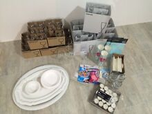 Party supplies - champagne flutes, wine glasses, balloons and candles Northbridge Perth City Preview