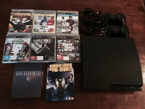 PS3 console + 8 games East Maitland Maitland Area Preview