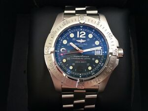 BREITLING Superocean Steelfish 2000m Automatic 44mm Men's Watch Reservoir Darebin Area Preview