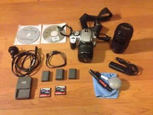 Canon 400D with 3 lenses, 3 batteries, memory cards etc. Darwin Airport Darwin City Preview