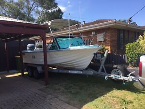 5.8m glasscraft with 115 4 stroke yamaha Durack Palmerston Area Preview