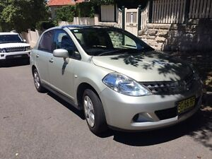 Low mileage Nissan Tiida Neutral Bay North Sydney Area Preview