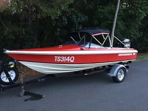 Ski boat  Haines hunter 1600so Glass House Mountains Caloundra Area Preview