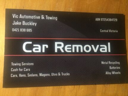 Car removal and towing Kyneton Macedon Ranges Preview