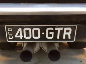 Personalised plates. Holden. Torana GTR Chev Yamanto Ipswich City Preview