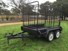 8x5 Tandem Cattle Trailer Lancefield Macedon Ranges Preview