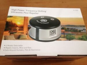 NEW High Power Frequency Shifting Ultrasonic Pest Repeller Eastwood Burnside Area Preview