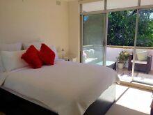 Stunnning modern queen bedroom with huge balcony Belrose Warringah Area Preview